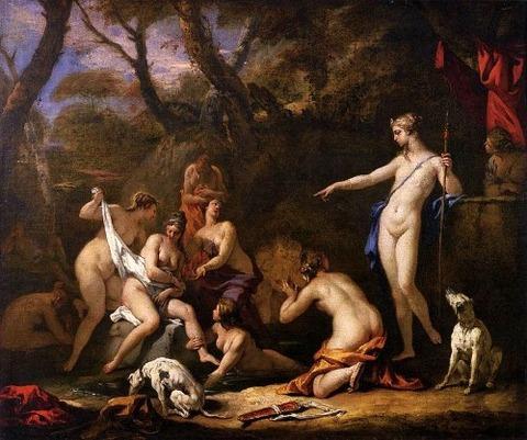 Sebastiano Ricci, Diana and Callisto, 1712-16