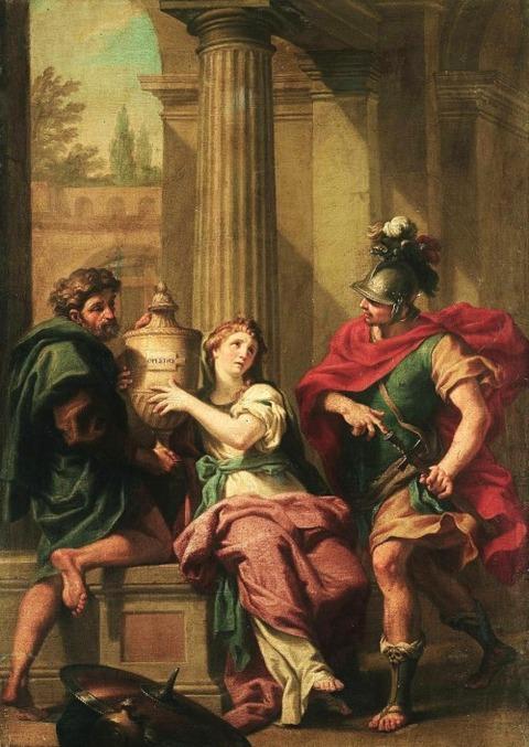 Electra and Orestes Jacopo Alessandro Calvi 1740-1815