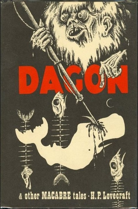 old cover dagon  other macabre tales