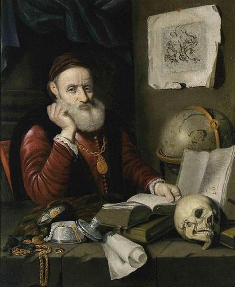 Bartholomeus Hopfer-Melancholia 1643