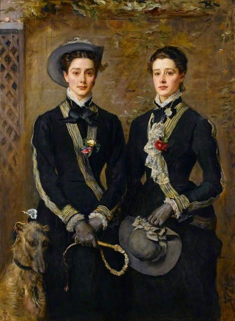 John Everett Millais Twins Grace and Kate Hoare 1876