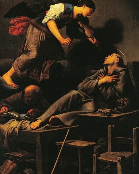 Carlo Saraceni Ecstasy Of St Francis