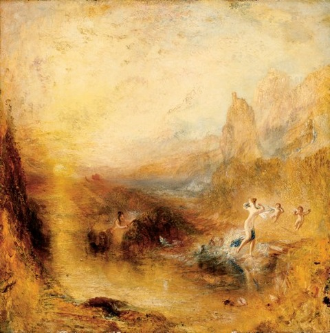 Turner  Scylla flying inland  advances of Glaucus 1841