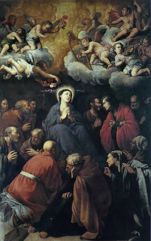 Carlo Saraceni, Death of the Virgin  1610