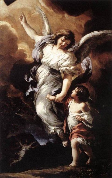 Pietro da Cortona   O Anjo da Guarda