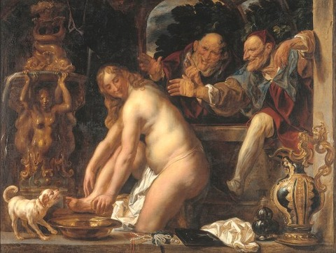 Jacob Jordaens - Susanna and the Elders