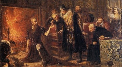 Jan Matejko Sędziwój The Alchemist 1867