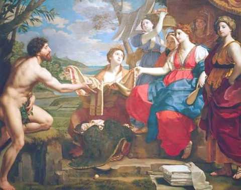 OdysseusAndNausicaa Desubleo, Michele