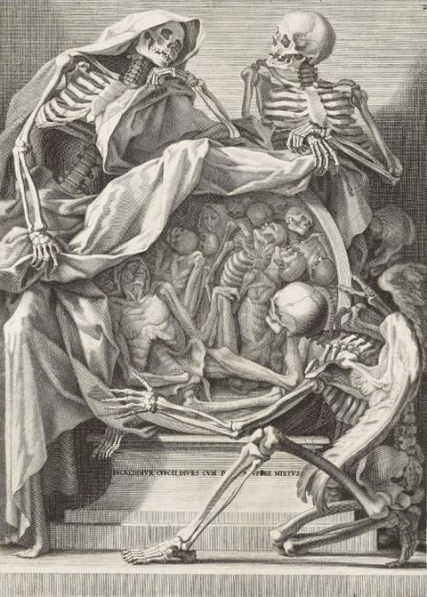 Anonymous Italian Memento Mori 1750