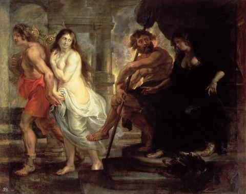 P_P Rubens - Orpheus and Eurydice 1636-38 Prado