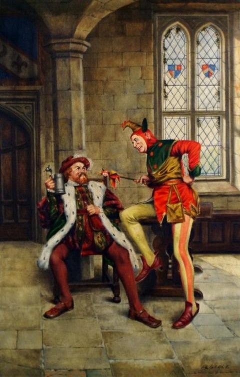 Grace (British, 19th Century) - Court scenes