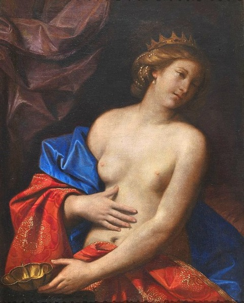 Dying Sophonisba, by Guercino 1630
