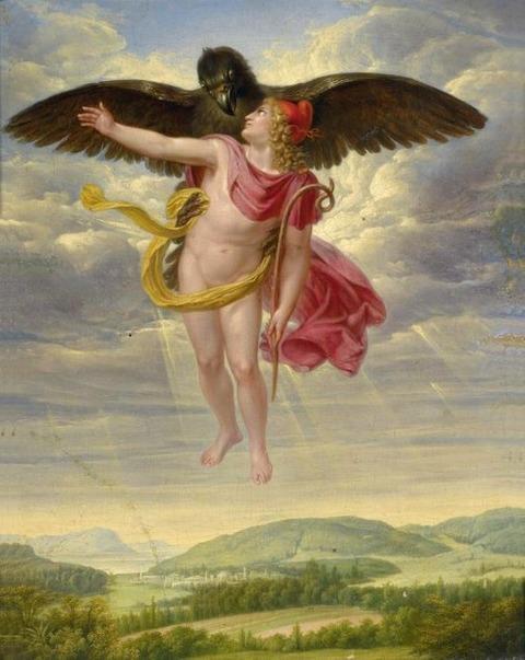 Sigmund Ferdinand Ritter von Perger, Ganymede 1832