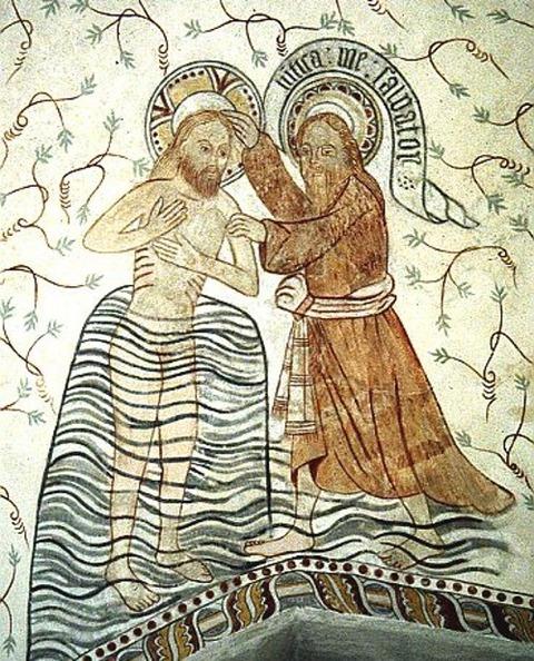 Frescoes in Danish Churches