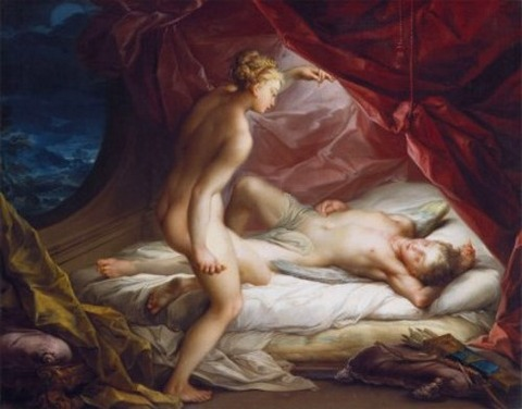 Cupid and Psyche, by Vincenzo Carducci, 1568–1638