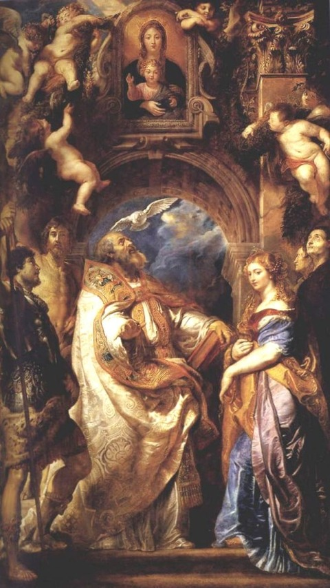 The Ecstasy of St Gregory the Great 1608