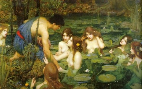 Hylas and the Nymphs, John William Waterhouse