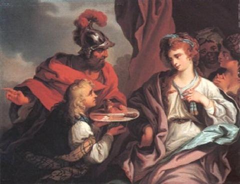 Death Sophonisba Cipriani, Giovanni Battista 1727 - 85