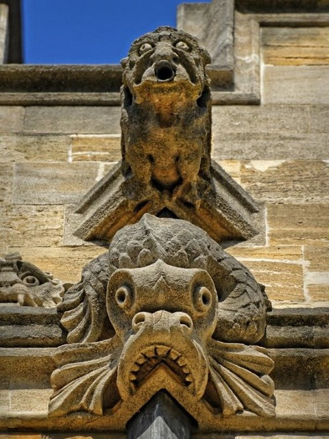 College Gargoyles, Oxford, England