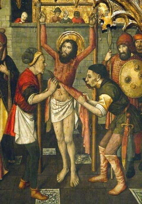 Catalan painter Jaume Huguet (1412-1492)
