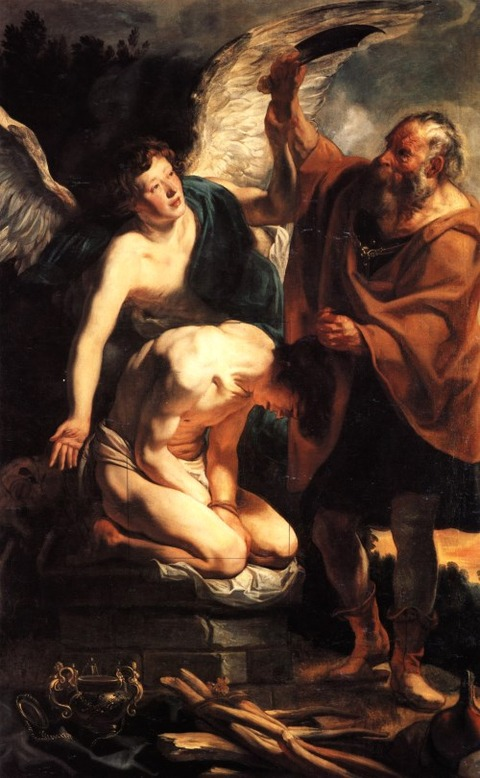 The Sacrifice of Isaac, 1630 - Jacob Jordaens