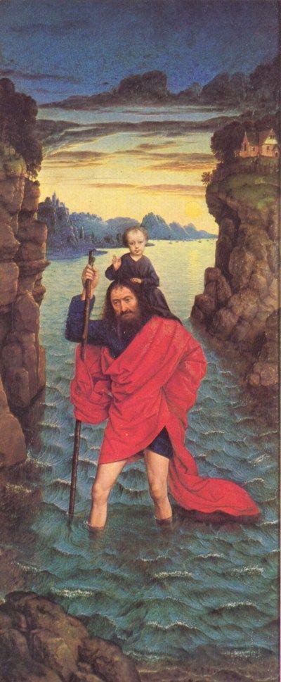 saint-christopher Dirk Bouts 1468