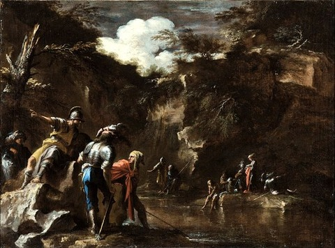 Thales causing the river 1663-4