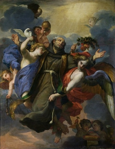 The Ecstasy of St. Peter of Alcantara Claude Francois