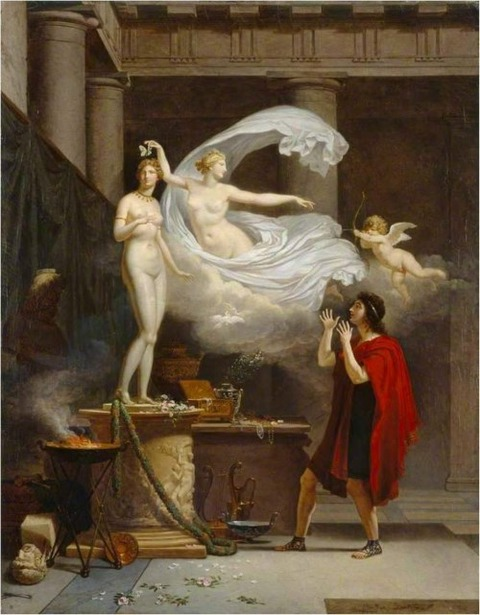 Pygmalion and Galatea - Louis Gauffier