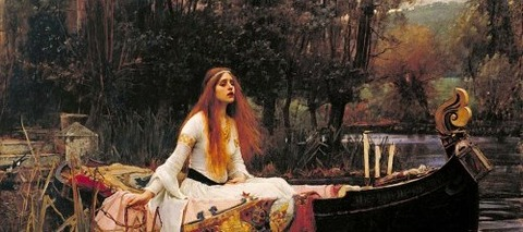 John William Waterhouse - The Lady of Shalott 1888 -