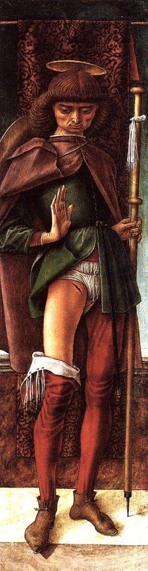 Carlo Crivelli St Roch1493