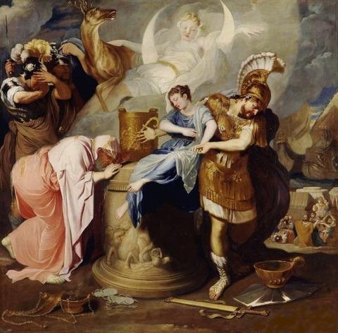 The Sacrifice of Iphigenia. 1646-47. Bertholet Flemalle