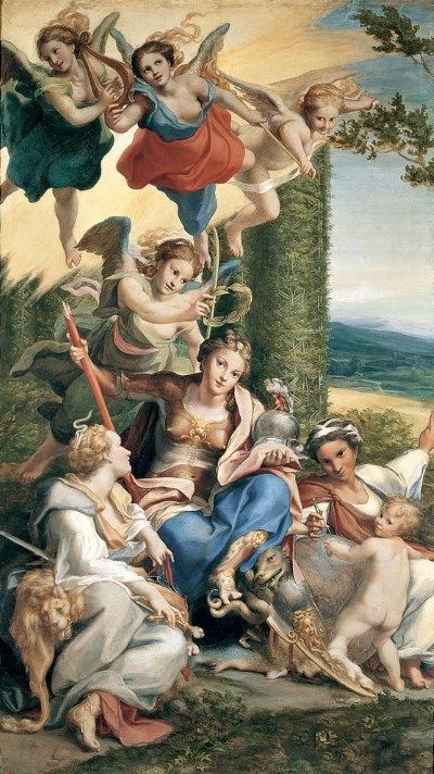 Virtues by Correggio