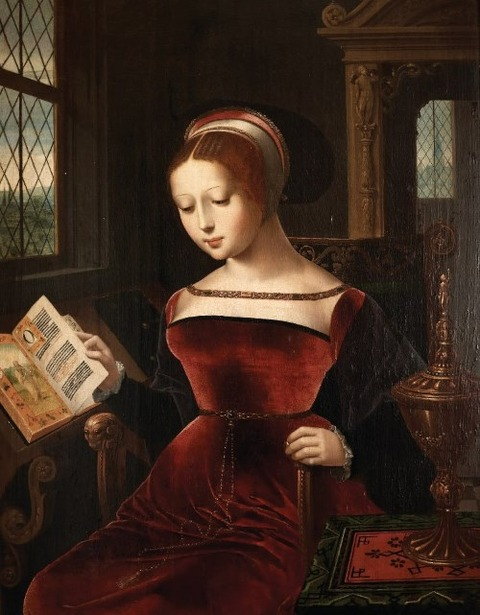 Jane Grey by Lucas de Heere before 1584