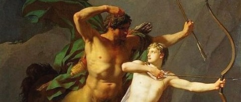 education centaur Chiron 1782 Jean Baptiste Regnault -