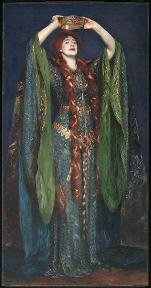 Ellen Terry as Lady Macbeth  John Singer Sargent 1889