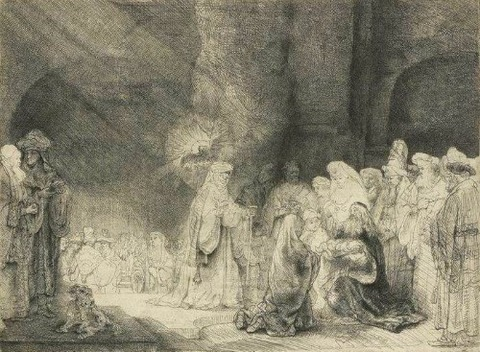 Rembrandt - Presentation in the Temple, 1640
