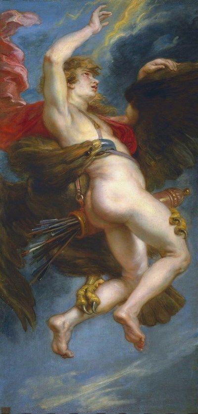 Peter Paul Rubens The Rape of Ganymede 1636-37