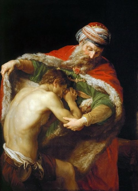Pompeo_Batoni  Parable of the Prodigal Son