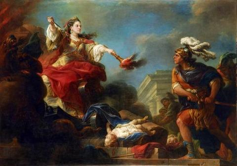 Jason et Médée-Charles André Van Loo