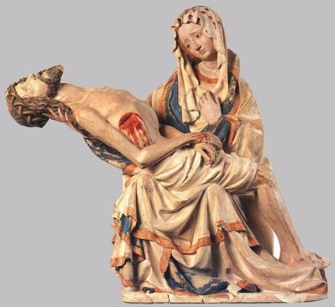 15th C pieta Germany