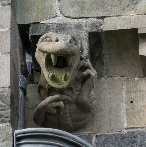 Paisley_Abbey_New_Gargoyles (2)