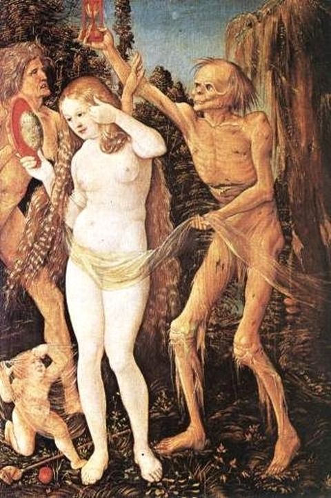 Hans Baldburg Grien Death and the Maiden 1517