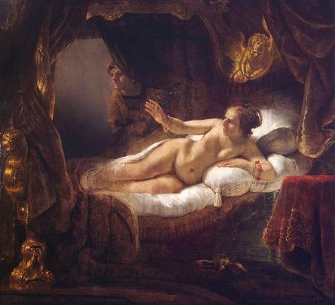Rembrandt van Rijn  Danae 1636-43