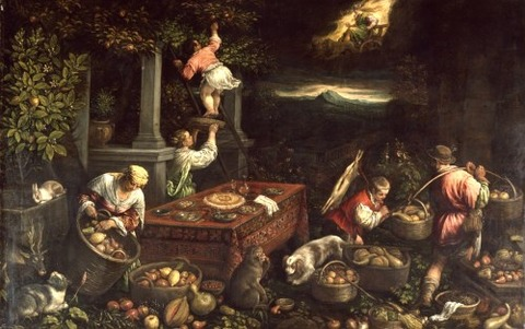 Leandro Bassano  1580  element earth