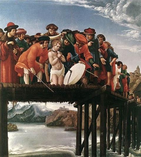 Albrecht altdorfer Martyrdom St Florian1516-20