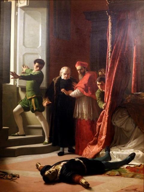 Giuseppe battista bellucci morte  alessandro de' medici