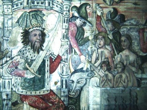 13th century-St Edmund Tapestry