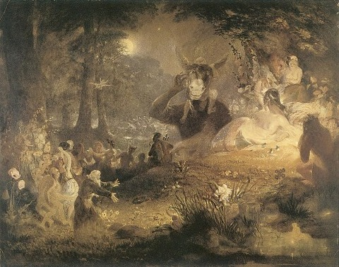 A Midsummer Nights Dream by John Lamb Primus 1834