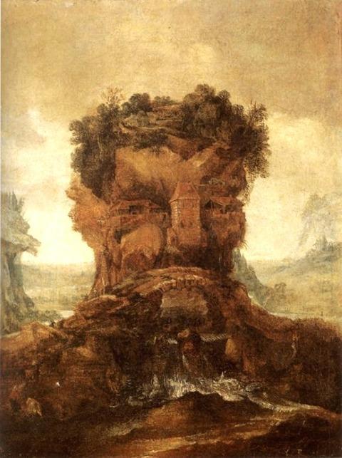 Joos De Momper - Allegory of spring late 16th